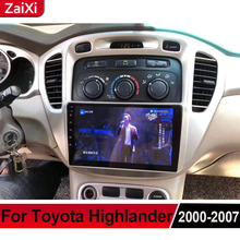 ZaiXi For Toyota Highlander 2000~2007 Android Car Multimedia Player GPS Audio Radio Stereo Original Style Navigation NAVI BT