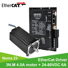 Nema 23 Stepper-Motor-Driver Mechine Rtelligent DC 6A with 3n.m-4.0a for CNC 24-80V Fieldbus