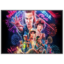 stranger things season 3 posters wall stickers glossy paper clear image home decoration free shipping buy 3 get 4 -11(China)