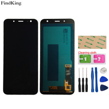 TFT SUPER AMOLED LCD Display For Samsung Galaxy J6 2018 J600 J600G J600F J600L Touch Screen Digitizer LCD Display Assembly Tools