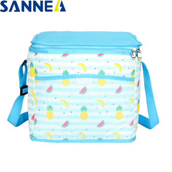 SANNE 2020 New Summer Series 16L/9.5L Lunch Bag Insulated Thermal Lunch Bag for Food Thermal Cooler Bag Waterproof Portable Bag sanne 25l large capacity plain color portable thermal coole bag for food famous brand waterproof thermal cooler insulated