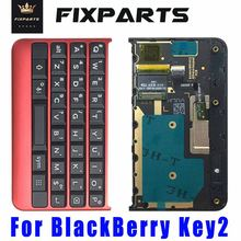 Original keyboard For BlackBerry key2 Key 2 Keytwo Mobile Phone Keypads Button Housing Cover case With Flex Cable Keyboards Part(China)