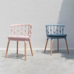 Nordic INS Windsor krzesło krzesło restauracyjne restauracja biuro konferencja krzesło do pracy na komputerze Home sypialnia nauka krzesło drewniane na