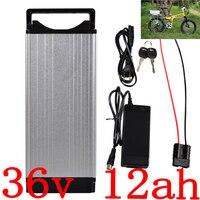 Bateria elétrica da bicicleta 36 v 10ah 12ah 12ah 14ah 16ah da bateria 36 v bateria 36 v 12ah do lítio de 500 w com carregador 2a dever livre