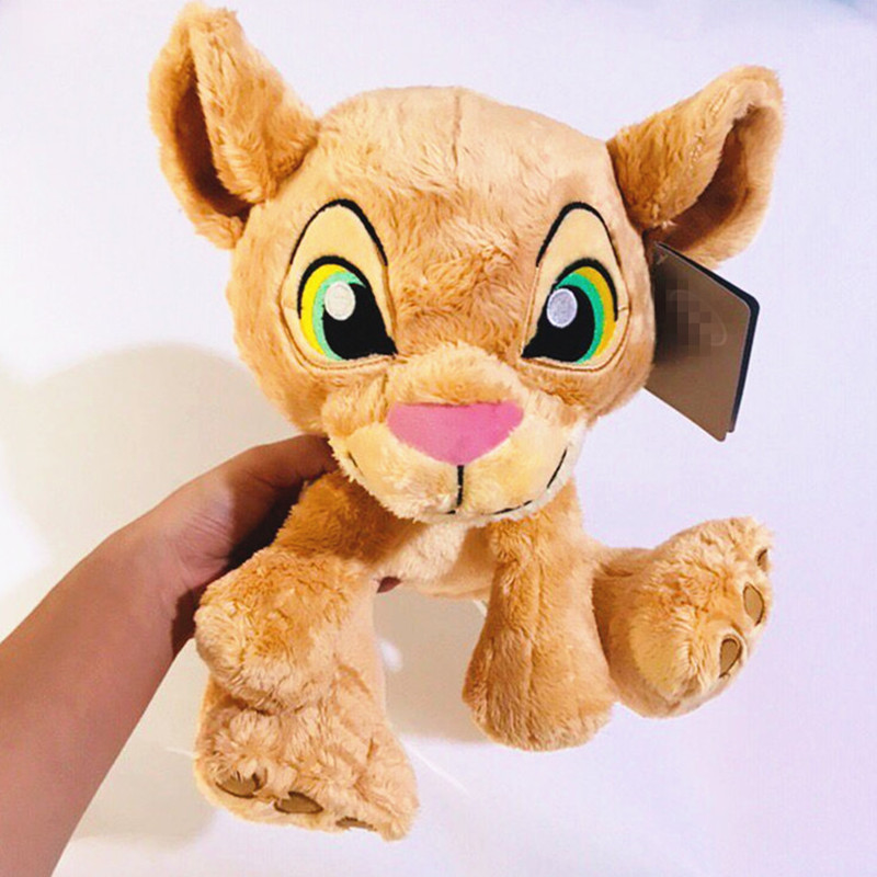 1pieces/lot 26cm Simba And Nala Doll Plush Gift Children's Toys