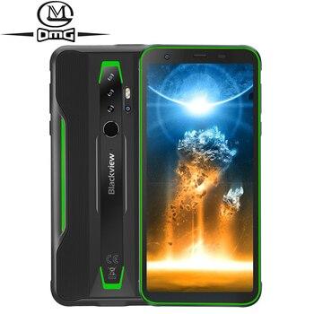 Купить Blackview BV6300 Pro NFC 6 ГБ + 128 ГБ IP68 водонепроницаемый мобильный телефон 5,7-дюймовый Восьмиядерный Android 10,0 прочный смартфон Quad Camera
