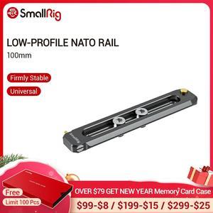 """Image 1 - Rail otan de 100mm de longueur 6mm dépaisseur avec Rail otan 1/4 """" 20 vis de montage pour pince/poignée/monture Evf otan 2485"""