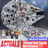 DHL 05132 Star Series Wars Ultimate Collector's 75192 Millennium Model Falcon Destroyer Building Blocks Bricks Kids Toys Gift