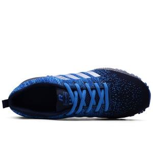Image 4 - 2019 neue Männer Casual Schuhe Atmungsaktive Laufschuhe Männer Mode Sommer Männer Vulkanisieren Schuhe Große Größe tenis masculino 35  48