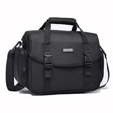 цена на Waterproof Camera Bag Backpack Shoulder Handbag Outdoor Multi-functional Photo Bag For Canon Nikon Sony DSLR Digital Camera Case