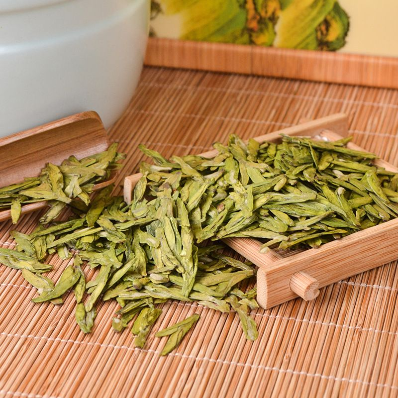 20211 Superfine Xihu Dragon Well Green Chinese Tea The West Lake Health Care Dragon Well Portable Packing 250g