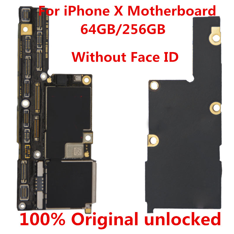 iPhone for X Unlocked 100%Original Gift Logic No-Face-Id 64GB X--Tool
