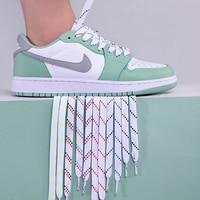 Cordones de lona con estampado de dibujos animados para hombre y mujer, zapatillas de deporte de alta calidad, cordones planos, 100, 120, 150cm