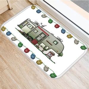 Image 3 - RV Wagon Non slip Bedroom Decoration Soft Carpet Kitchen Floor Living Room Floor Mat Bathroom Non slip Mat Door Mat 40x60cm   ..