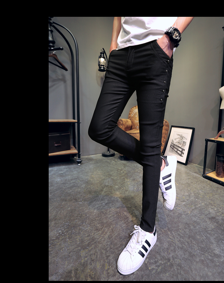 Brand New Men Summer Pants Fashion 2020 All Match Skinny Pants Men Streetwear Casual Trousers Men Hot Sale 22