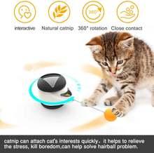 Умная игрушка для кошек с колесами автоматическая перезаряжаемая