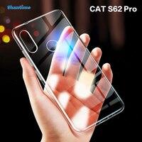 Funda de TPU suave para CAT S62 Pro, Funda Ultra delgada y transparente para CAT S62 Couqe