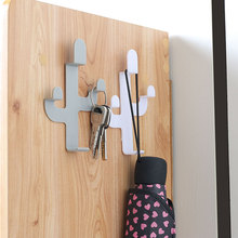 Hat Rack Decoration Clothing-Display-Rack Wall-Hook Coat Key-Chain Booth Self-Adhesive