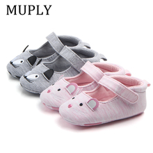 2020 Fashion New Baby Shoes Girls Boy First Walkers Mouse Ca