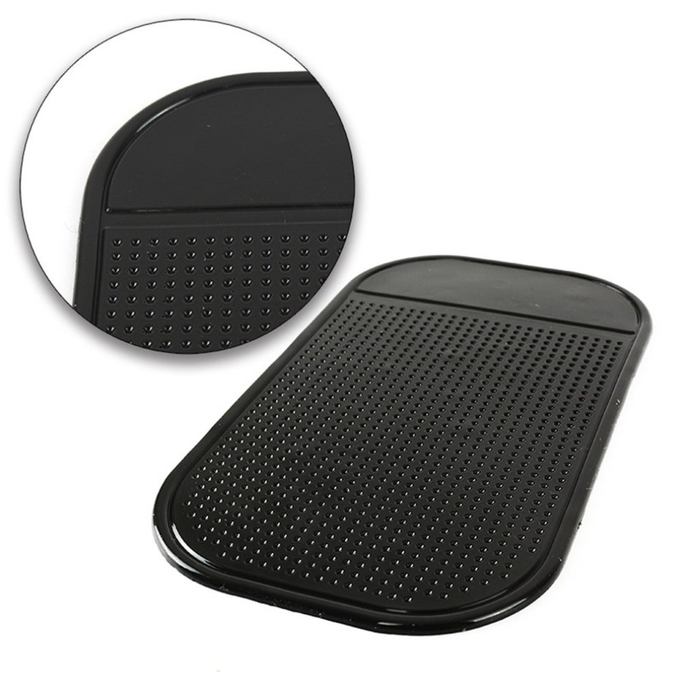 Silicone Vehicle Anti-slip Mat Anti-skid Pad With Salient Round For Mobile Phone Sticky Pad GPS Holder Non-slip Mat