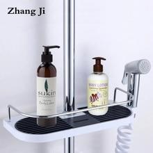 Bathroom Shelves Shampoo-Tray Storage-Holder Adjustable Zhangji High-Quality