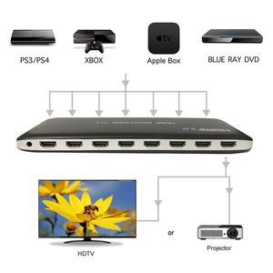 Image 3 - 4K 60HZ HDMI 스위치 7x1 4x1 3x1 HDMI 2.0 스위처 오디오 비디오 컨버터 PS3 PS4 XBOX DVD PC TV HDTV 모니터 또는 프로젝터