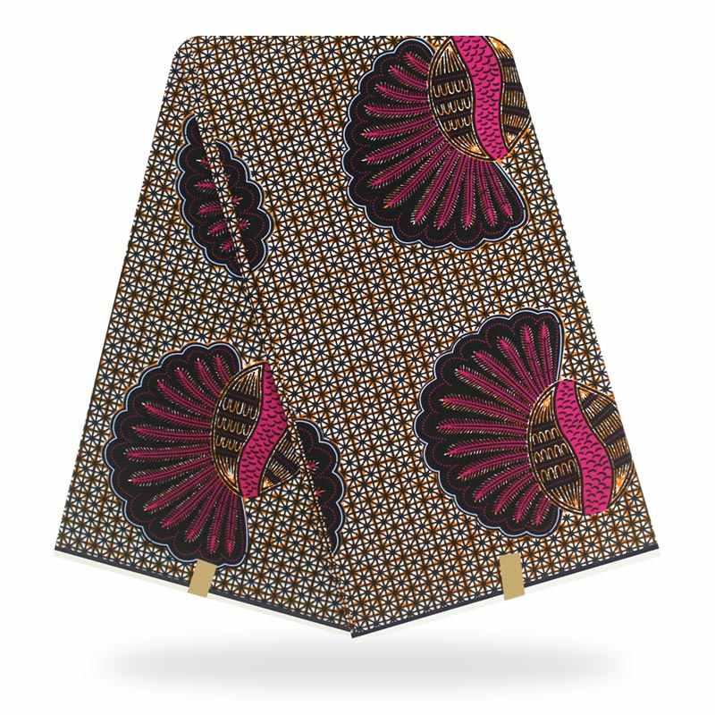 الأفريقي الشمع النسيج عالية الجودة مادة القطن أنقرة النسيج الخياطة حقيقي الهولندية الشمع الحقيقي 6 ياردة لفستان