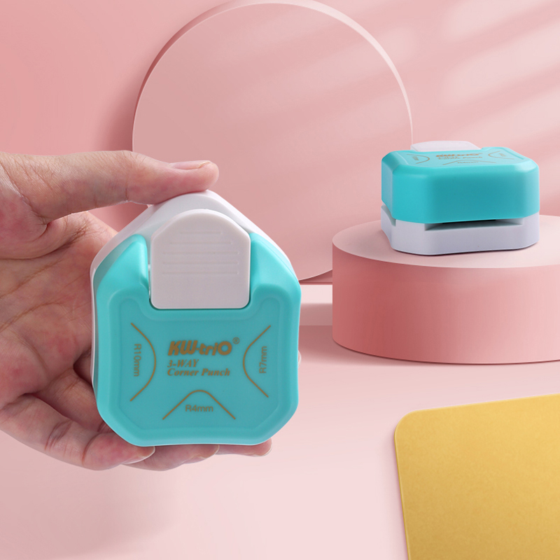 R4 R7 R10 3 In 1 Corner Rounder Paper Punches Border Punch Round Corner Paper Cutter Card Scrapbooking for DIY Handmade Crafts 4
