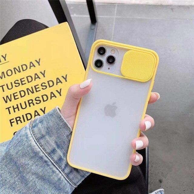 Eenvoudige Voor Iphone 11 Pro Xs Max X Xr 7 8 6 6S Plus Se 2020 Matte Clear Soft back Cove Camera Lens Bescherming Shockproof Case