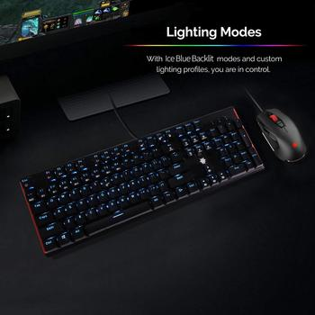 HEXGEARS GK705 Kailh BOX Switch 104 Keys Gaming Mechanical Keyboard Hot Swap Switch Anti-Ghosting LOL Keyboard 6