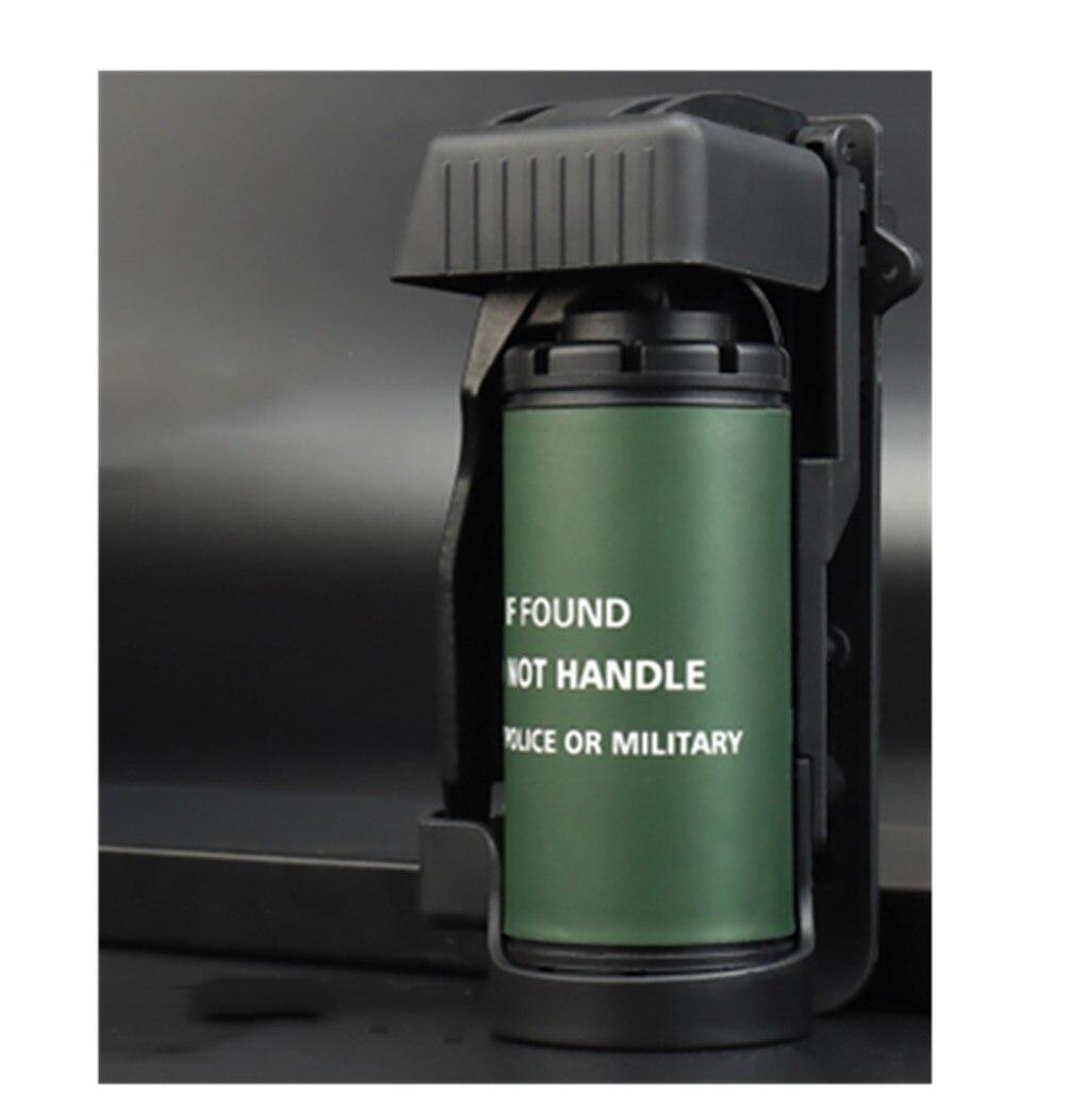Тактическая модель дымовой бомбы полый может быть заполнен Адаптация к системе MOLLE ABS Военные Аксессуары для страйкбола стрельбы