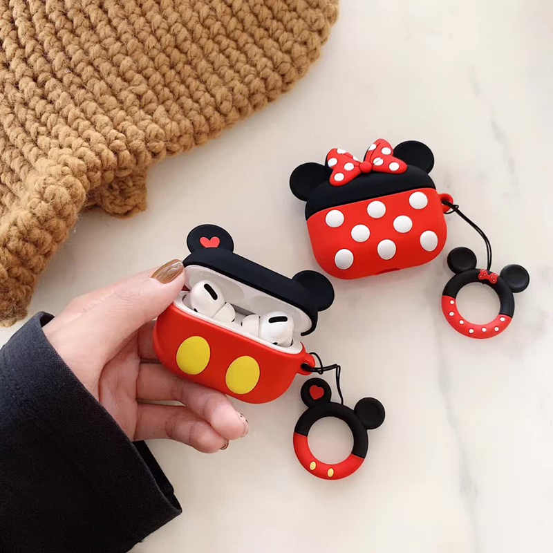 LoveRony 3D Silicone Case for AirPods Pro 37