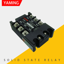 цена на Three-phase Solid State Relay JGX-3 48120Z Chip Welding DC Control AC 120A