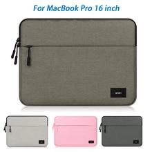 Для MacBook Pro 16 дюймов нейлоновая сумка для ноутбука защитная Пылезащитная подкладка посылка+ блок питания для Macbook ноутбук MacBook Pro