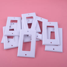 LETAOSK 20pcs Faceplate Blank Wall Outlet Socket Plate Keystone Jack Replacement 11.4cm*7cm