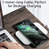 Baseus 15W Qi Wireless Charger Stand for iPhone 11 Pro X XS Samsung S10 S9 S8 Fast Wireless Charging Station with Holder 6