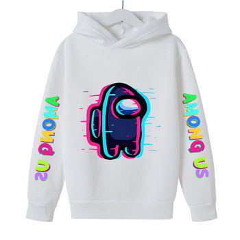 New 4 To 14 Yrs Game Among US Boys Girls Hoodies For Teens Cotton Impostor Graphic Funny Spring Autumn Clothes Sudadera 5