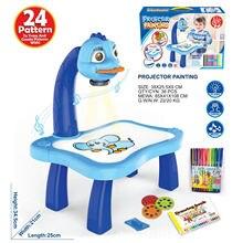 Игрушечный детский проектор для рисования обучающий стол детей