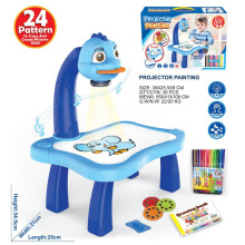 Toy Projector-Table Kids Child Learning-Desk And Draw with Light Trace Music Best