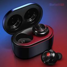 Bluetooth Earphone Wireless with Headset Charging Box HIFI In-Ear Waterproof Sport Earbuds Gaming Headphone for Smart Phone