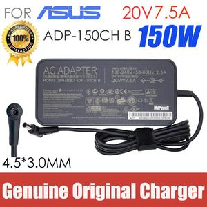 original 20V 7.5A 150W FOR Asus Laptop AC Adapter 6.0*3.7mm ADP-150CH B Charger FX505 FX505D FX505DU FX505DT FX95G/D FX95GT