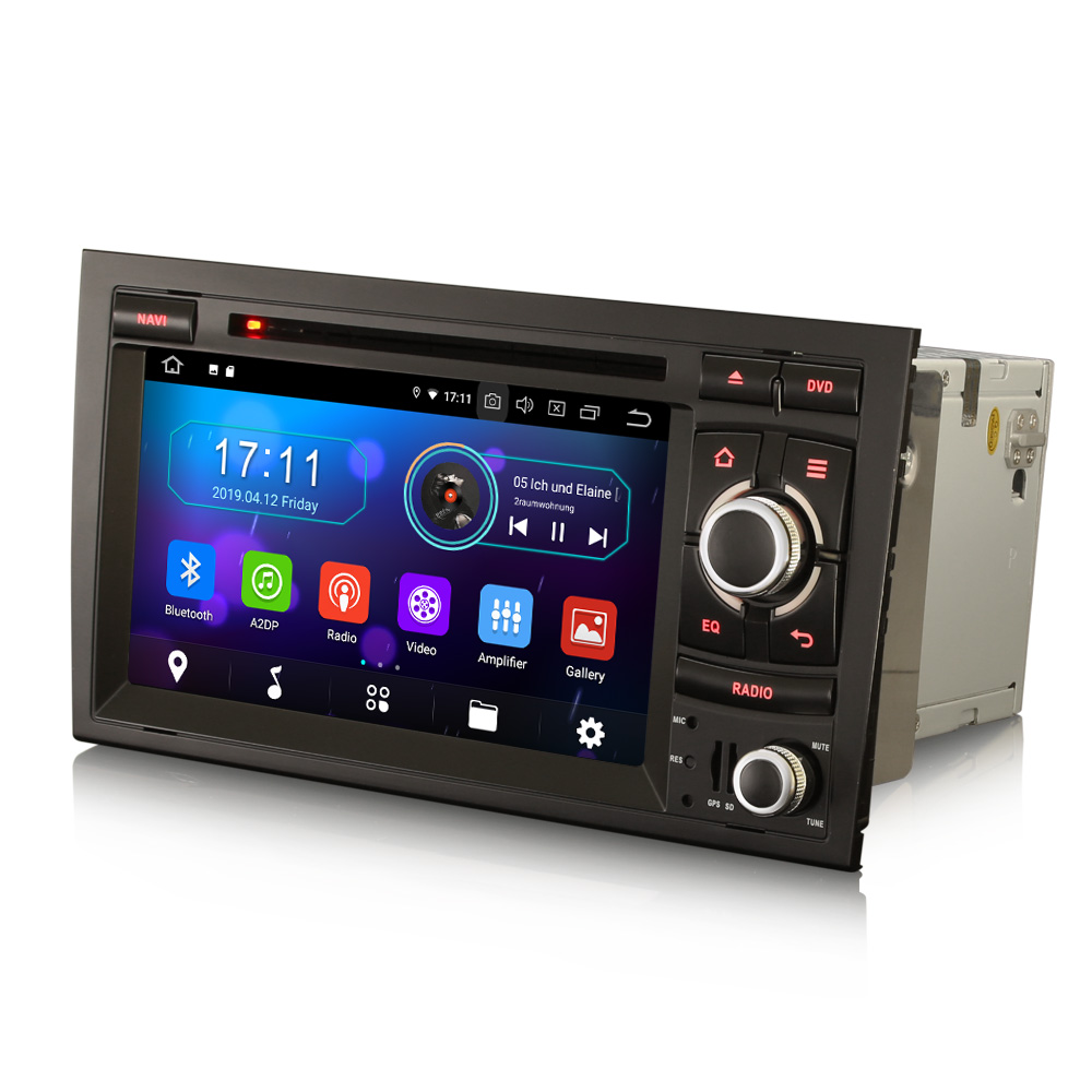 """7"""" Android 10.0 OS Car DVD Multimedia Navigation GPS Radio System Player for Seat Exeo 2008-2013 with 3G/4G Dongle Support(China)"""