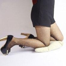 2019  new hot Sexy Diamond Womens Glitter Fishnet Tights Mesh Pantyhose Rhinestone Nylons Lady Stockings Shiny pantyhose