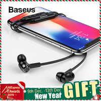 Auriculares inalámbricos para el cuello Baseus S06 auriculares inalámbricos para Xiaomi iPhone auriculares estéreo auriculares fone de ouvido con micrófono
