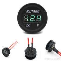 New Arrival 12 V-24 V DC LED Digital Display Auto Car Motorcycle Voltmeter Metro Waterproof Voltmeter Socket