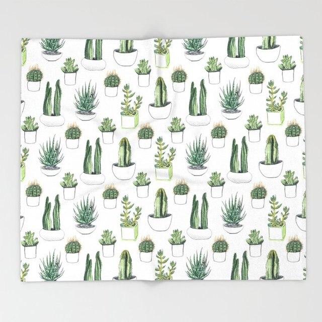 Torchon /à Vaisselle Motif de torchons pour 27,5 x 11,8 Linges de Cuisine en Coton Lavable en Machine Torchon dfdsf Mexican Texas Cactus Plants Spikes Cartoon Like Art Print Torchons de Cuisine