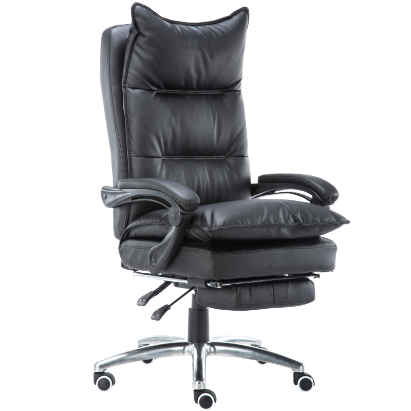 The Boss Of The Study Chair Leather Office Massage Computer Chair Home Swivel Chair Chair Anchorwoman Chair