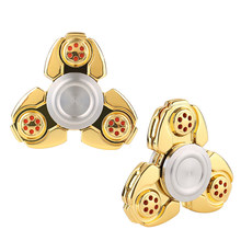Flash Sale Top Spinner Bearing Toy Gyro Fidget Finger Dice Anti Stress Release F Children Adult Random Color Spiner Hand Sppiner(China)