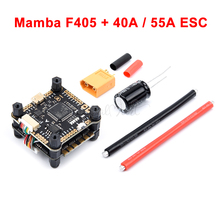 Mamba F405 Flight Controller & 2-6s 40A / 55A 4 In 1 ESC BLHeli_S Bürstenlosen ESC Unterstützung oneshot/Multishot-modus/Dshot