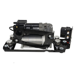 Image 4 - New Air Suspension Compressor With Suspension Valve Bracket For BMW F01 F02 F03 F04 730I 740i 740Li 750i 750Li 760Li 37206864215